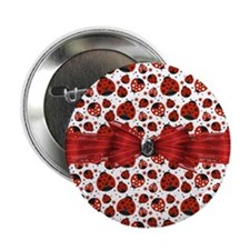 "Ladybug Obsession 2.25"" Button"