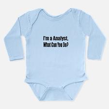 analyst13.png Long Sleeve Infant Bodysuit