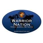 WN Oval Sticker