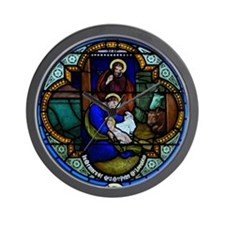 Nativity  Wall Clock