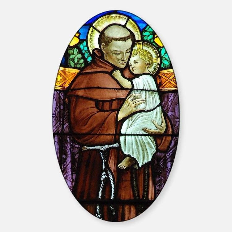 Saint Anthony Decal