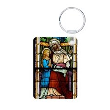 St Anne with Mary Keychains