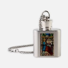 St Anne with Mary Flask Necklace