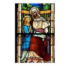 St Anne with Mary Postcards (Package of 8)