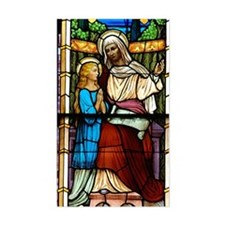 St Anne with Mary Decal