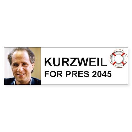 Kurzweil Bumper Sticker