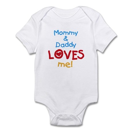 Mommy & Daddy Loves Me Infant Bodysuit