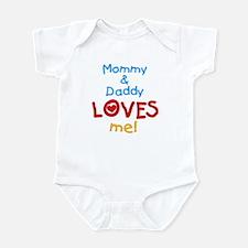 Mommy & Daddy Loves Me Infant Bodysuit