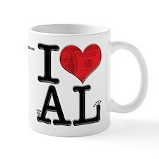 I Love weALth Small Small Mug