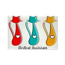 medical assistant totes 2 Magnets