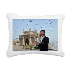 Sachin Tendulkar Rectangular Canvas Pillow