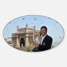 Sachin Tendulkar Sticker (Oval)