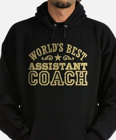 World's Best Assistant Coach Hoodie (dark)