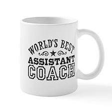 World's Best Assistant Coach Small Mug