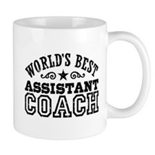 World's Best Assistant Coach Small Mug