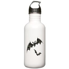 Grinning Skulls and Roses Water Bottle