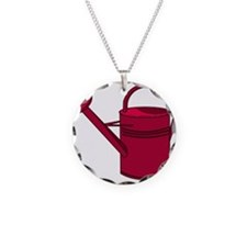 Garden Watering Can Necklace