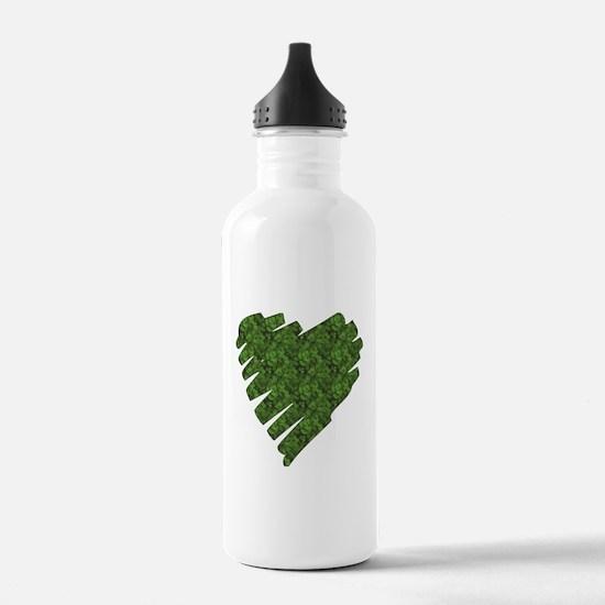 Green Leaves Water Bottle