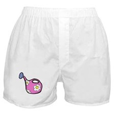 Flower Watering Can Boxer Shorts