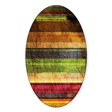 Multicolored Wood  Decal