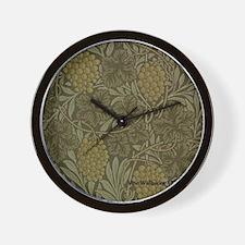 William Morris Vine Wall Clock