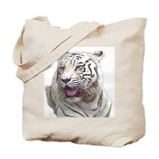white tiger 4 Tote Bag