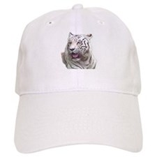 white tiger 4 Baseball Baseball Cap