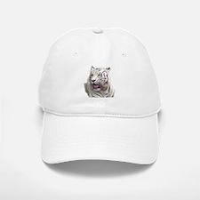 white tiger 4 Baseball Baseball Cap