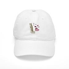 Stiletto and Pink Hearts Baseball Baseball Cap