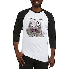 white tiger 4 Baseball Jersey