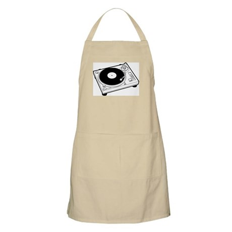DJ Turntable BBQ Apron