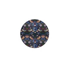 William Morris Strawberry Thief Mini Button