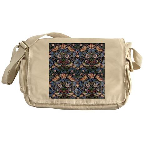 William Morris Strawberry Thief Messenger Bag