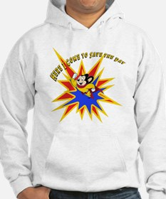 Mighty Mouse Save the Day Hoodie