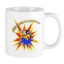 Mighty Mouse Save the Day Small Mug