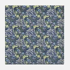 William Morris Blue Daisies Tile Coaster