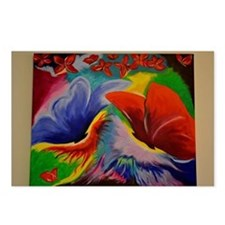 abstract painting Postcards (Package of 8)