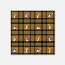 "MAD SCIENTIST Square Sticker 3"" x 3"""