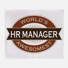 HR Manager Throw Blanket