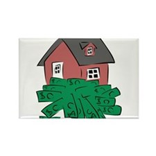 Money Pit House Magnets