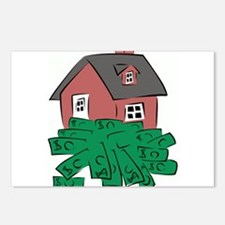 Money Pit House Postcards (Package of 8)