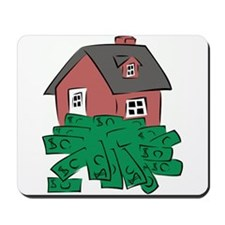 Money Pit House Mousepad