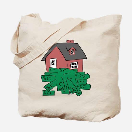 Money Pit House Tote Bag