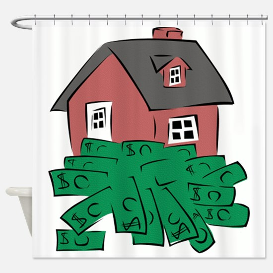Money Pit House Shower Curtain