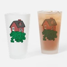 Money Pit House Drinking Glass