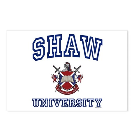 SHAW University Postcards (Package of 8)