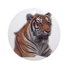 tiger 6 Ornament (Round)