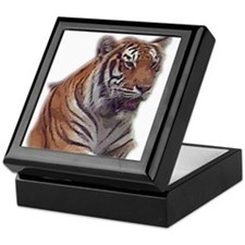 tiger 6 Keepsake Box