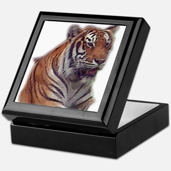 tiger 6 Keepsake Box