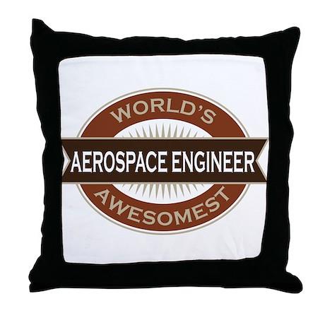 Aerospace Engineer (Awesome) Throw Pillow